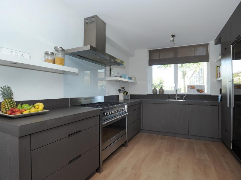 Wonderbaar Keuken strak taupe kleur PM-17